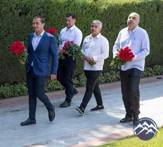 Gürcüstan müxalifətinin nümayəndə heyəti Bakıda