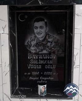 Şəhid Səlimxan Vüqar oğlu Bayramov QARAYAZI (13.07.1998-19.10.2020)