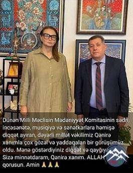 """""""AİLƏMİZDƏ YEGANƏ MÜĞƏNNİYƏM"""""""