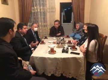 AzTU-nun rektoru universitetin şəhid məzunu Natiq Baxşəliyevin ailəsini ziyarət edib